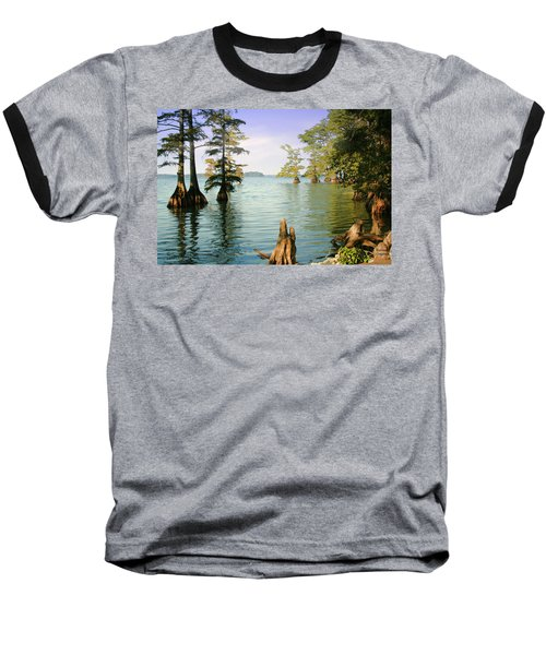 Baseball T-Shirt featuring the photograph Reelfoot Lake by Bonnie Willis