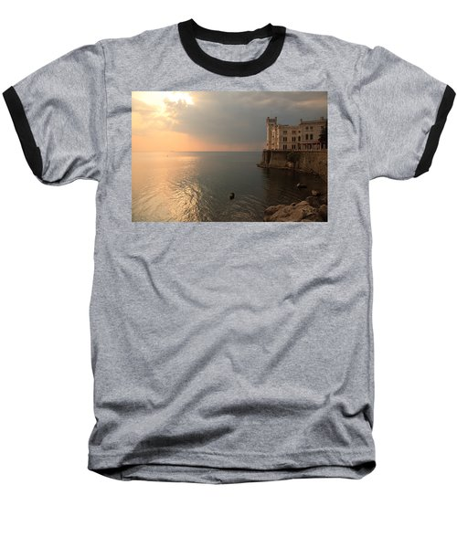 Miramare Sunset Baseball T-Shirt