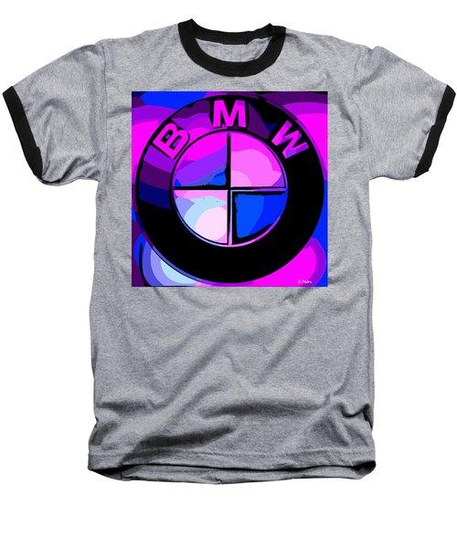 BMW Baseball T-Shirt by George Pedro