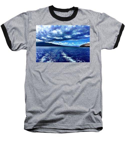 Boat View Baseball T-Shirt