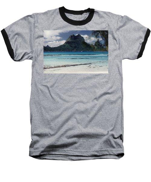 Baseball T-Shirt featuring the photograph Bora Bora by Mary-Lee Sanders