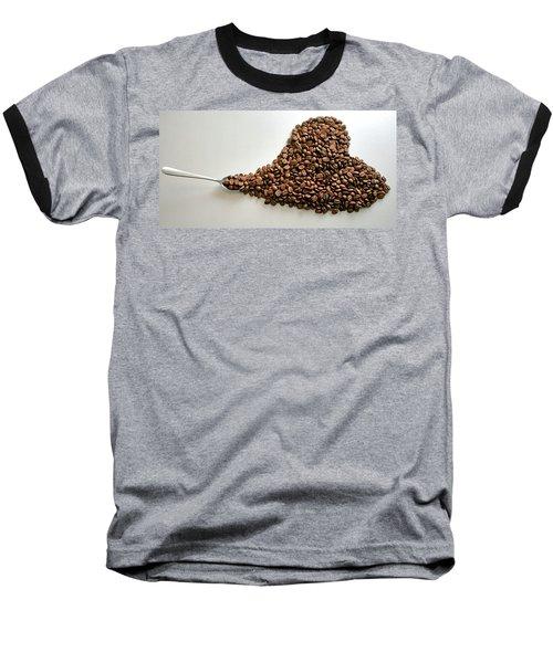 Coffee Lover Baseball T-Shirt