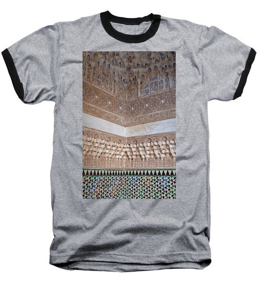 Colorful Carved Corner Baseball T-Shirt
