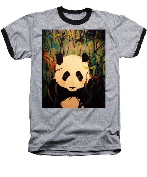 Endangered Panda Baseball T-Shirt