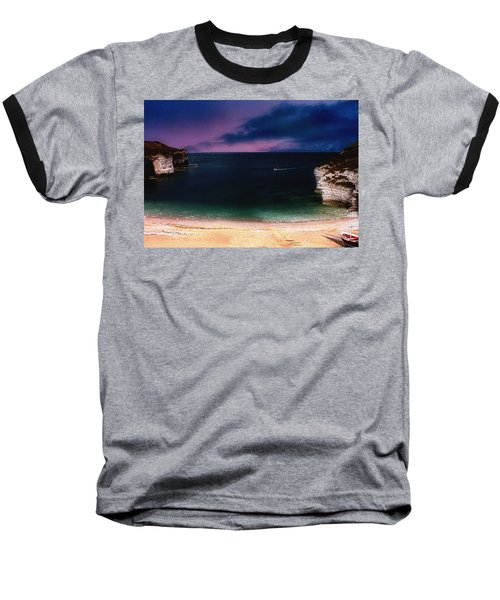 Evening On The Headland  Baseball T-Shirt