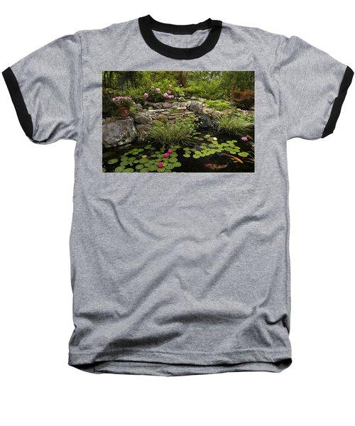 Garden Pond - D001133 Baseball T-Shirt