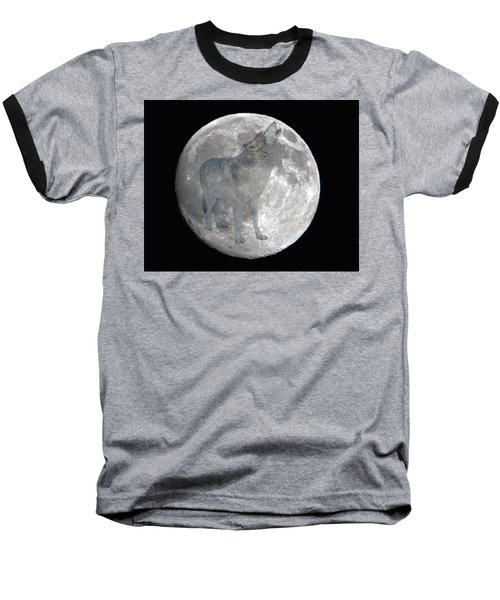 Howl At The Moon Baseball T-Shirt