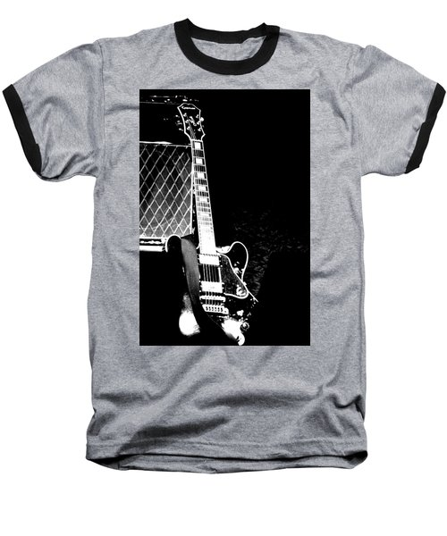 Its All Rock N Roll Baseball T-Shirt