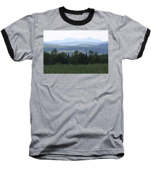Jay Peak From Irasburg Baseball T-Shirt