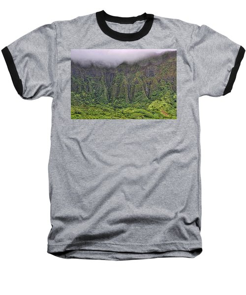 Ko'olau Waterfalls Baseball T-Shirt