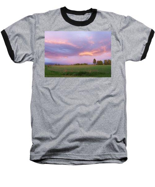 Montana Sunsets 3 Baseball T-Shirt