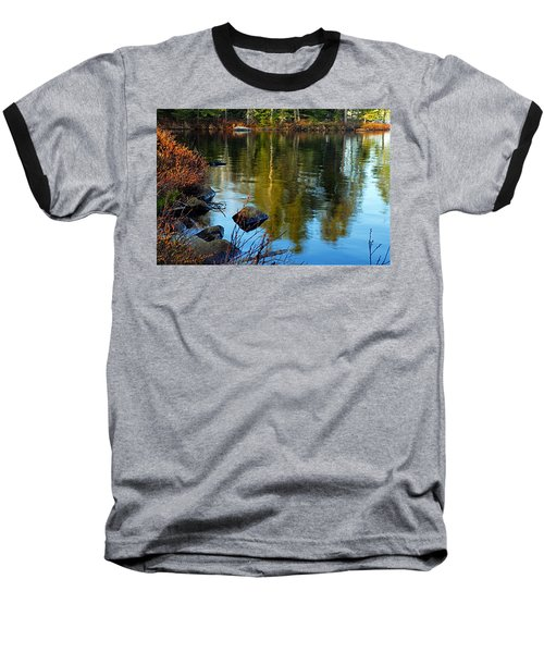 Morning Reflections On Chad Lake Baseball T-Shirt