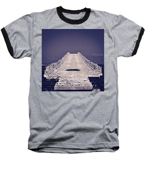Overseas Railroad II Baseball T-Shirt
