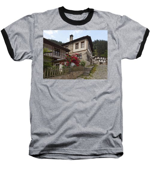 Shiroka Laka Village Baseball T-Shirt