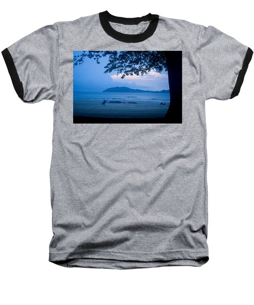 Strolling Surfer Baseball T-Shirt
