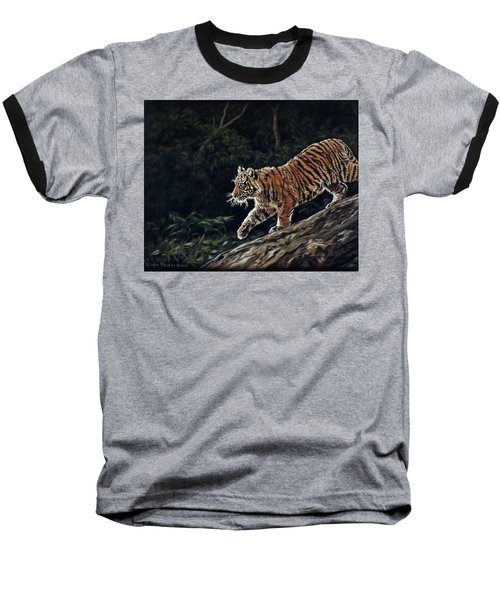 Sumatran Cub Baseball T-Shirt