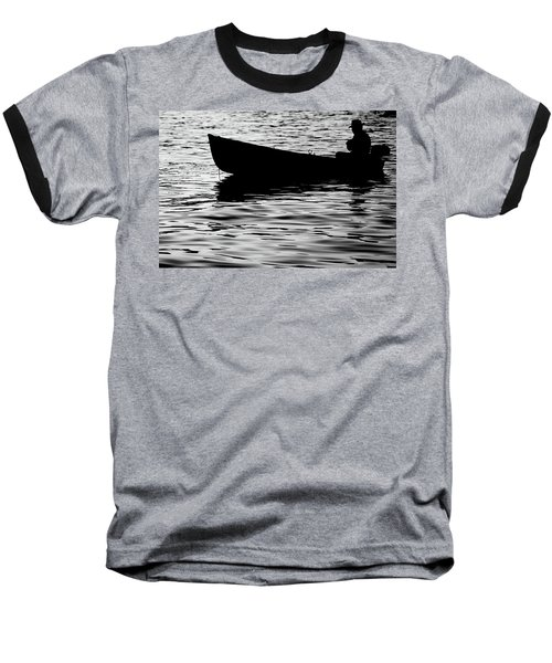 Baseball T-Shirt featuring the photograph The Old Fishermen by Pedro Cardona