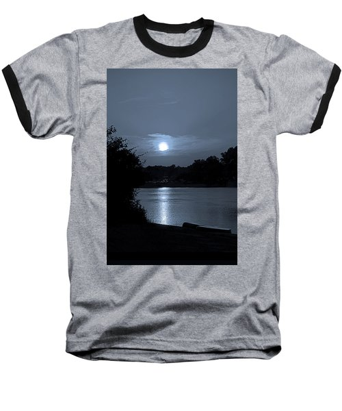 Twilight Baseball T-Shirt by Sue Stefanowicz
