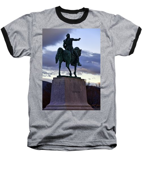 Washington Monument At West Point Baseball T-Shirt