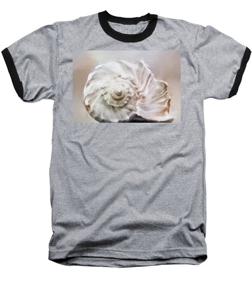 Baseball T-Shirt featuring the photograph Whelk Shell by Benanne Stiens