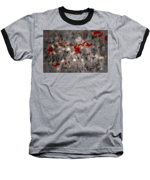 Wildflowers Of The Dunes Baseball T-Shirt