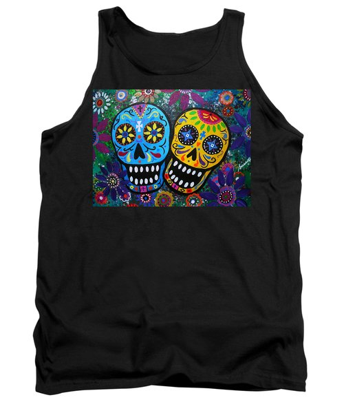 Couple Day Of The Dead Tank Top