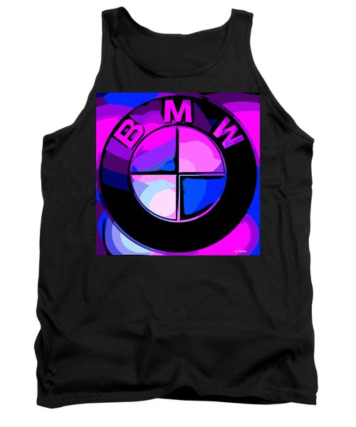 BMW Tank Top by George Pedro