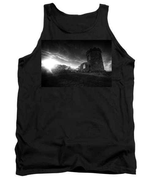 Bradgate Park At Dusk Tank Top by Yhun Suarez