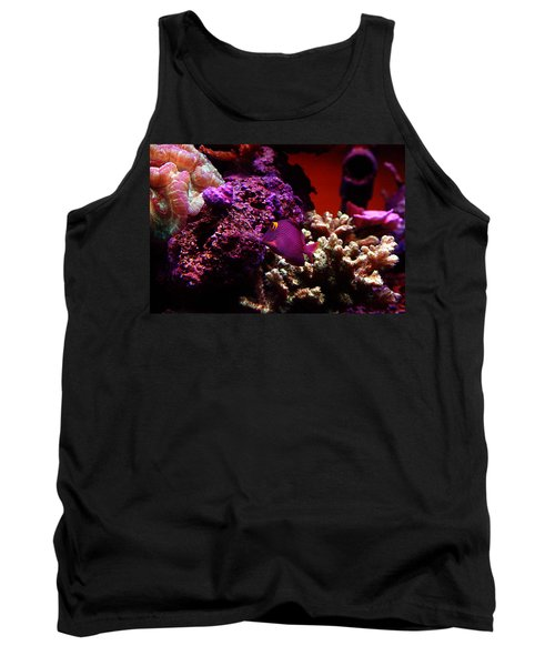 Colors Of Underwater Life Tank Top by Clayton Bruster