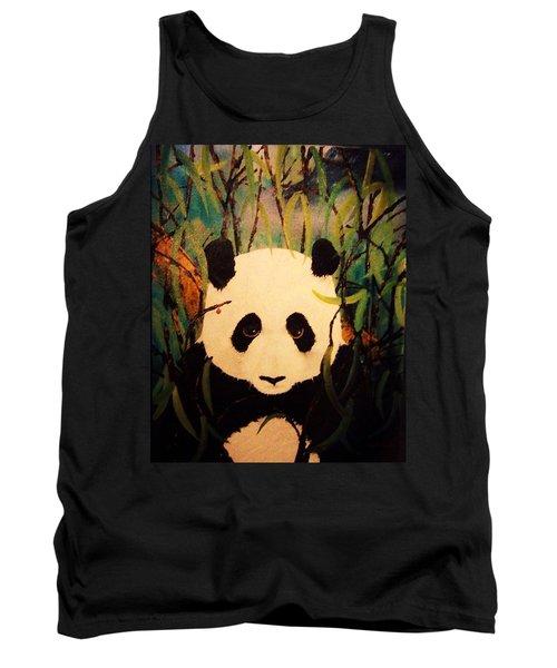 Endangered Panda Tank Top