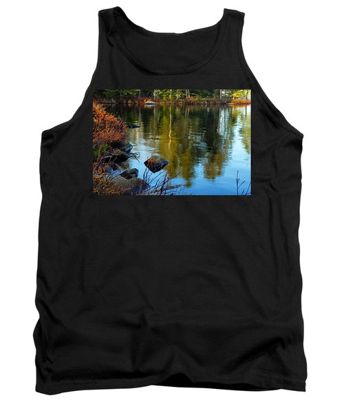 Morning Reflections On Chad Lake Tank Top