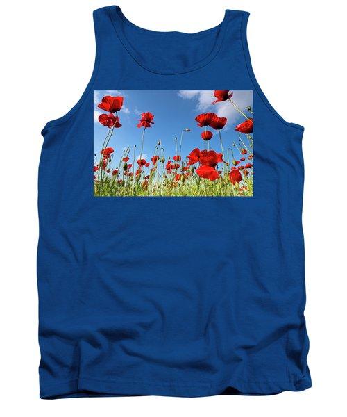 Poppies Season Tank Top