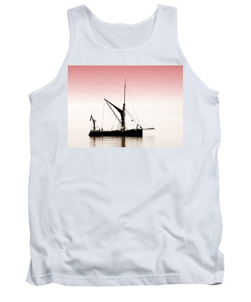 Coble Sailing  Against Pint Sky Tank Top