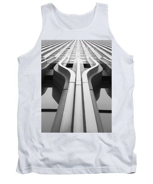 Look Up A Twin Tower Tank Top by Darcy Michaelchuk