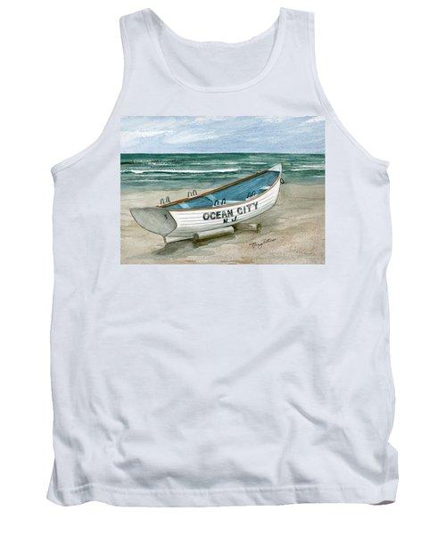 Ocean City Lifeguard Boat Tank Top