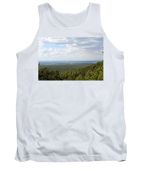Overlooking Pinetop Tank Top by Pamela Walrath
