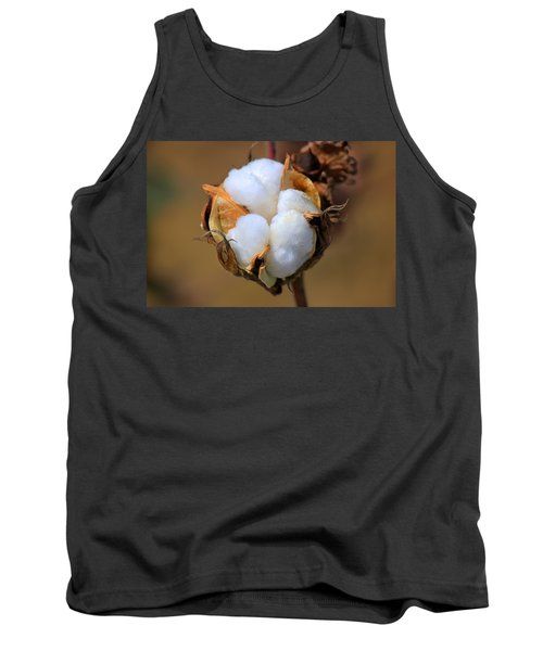 Cotton Boll Tank Top by Barry Jones