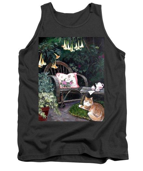 My Secret Garden Tank Top by Mary-Lee Sanders