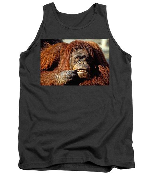 Orangutan  Tank Top by Garry Gay