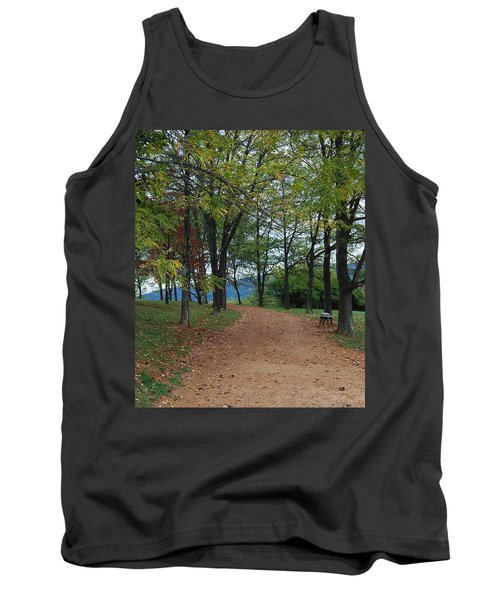 Tank Top featuring the photograph Pathway by Eric Liller
