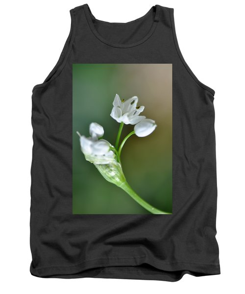 White Blossom 3 Tank Top