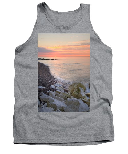 Sunrise At The White Cliffs Of Dover Tank Top
