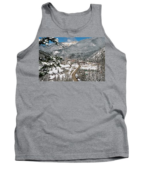 Red River In Winter Tank Top