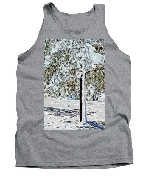 Snowy Tree Tank Top