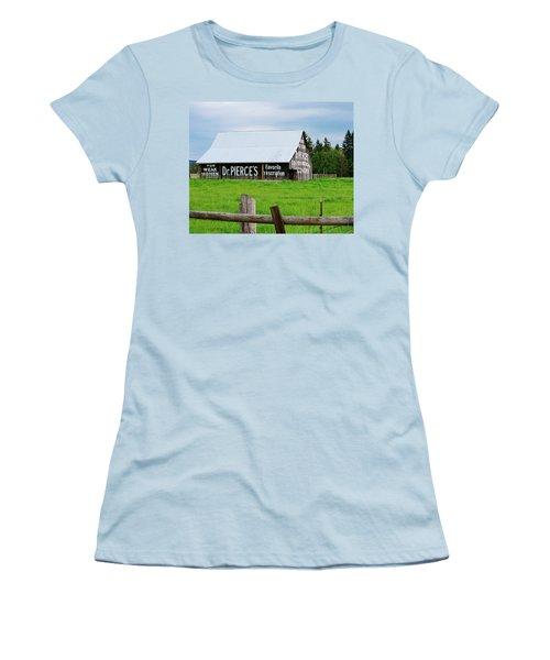 Dr Pierce' Barn 110514.109c1 Women's T-Shirt (Athletic Fit)