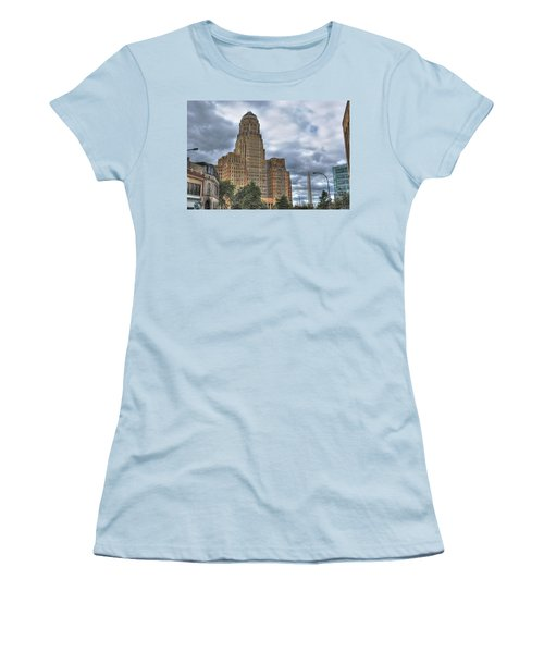 Women's T-Shirt (Junior Cut) featuring the photograph Piercing The Heavens by Michael Frank Jr