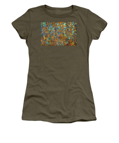 Color Abstraction Lxxiv Women's T-Shirt (Athletic Fit)