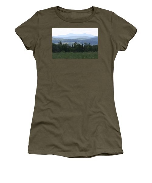 Jay Peak From Irasburg Women's T-Shirt (Athletic Fit)