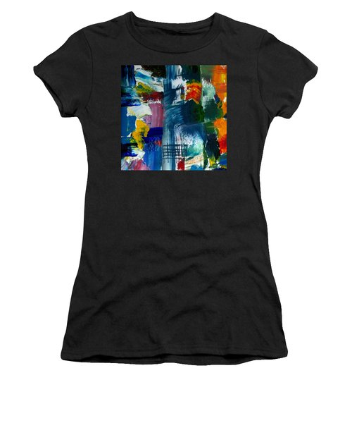Abstract Color Relationships L Women's T-Shirt (Athletic Fit)