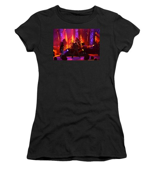 2u A Tribute To U2 Women's T-Shirt (Junior Cut) by Carol  Bradley